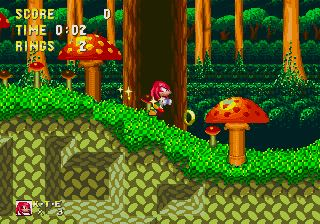 Sonic and Knuckles - Mushroom Hill Zone