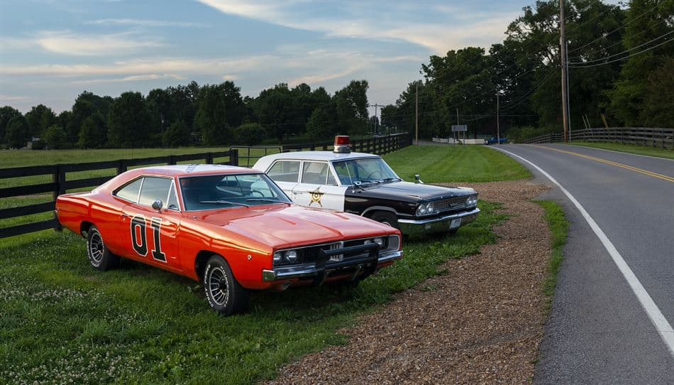 Dodge Charger Car From The Dukes of Hazzard