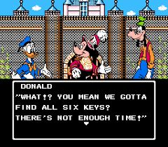 Adventures In The Magic Kingdom Game For Nintendo Entertainment System