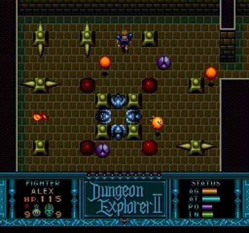 Dungeon Explorer II TurboGrafx-16