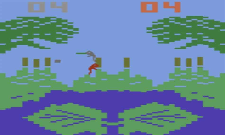 Frogs And Flies For Atari 2600