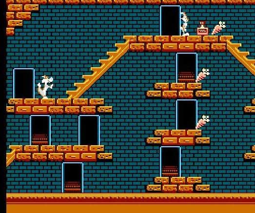 Bugs Bunny's Crazy Castle Video Game For The NES