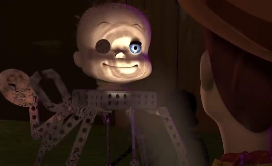 The Spider Head from Toy Story
