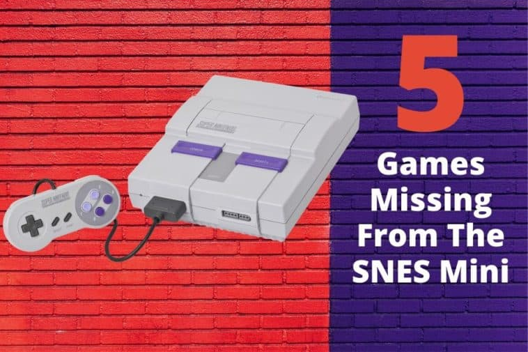 5 games that should have been on the SNES Classic Edition