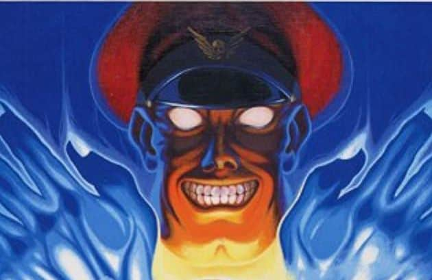 M Bison From Street Fighter on Playstation