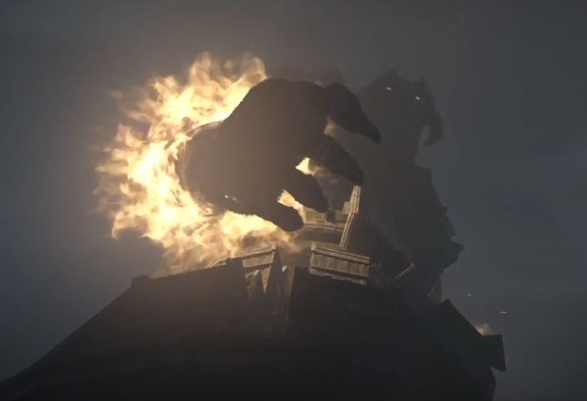 Malus Grandis Supernus Boss Battle From Shadow of the Colossus On PS2