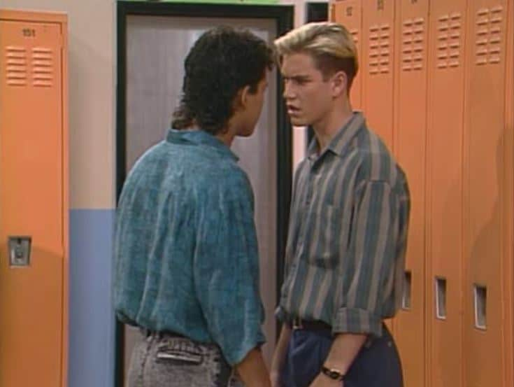 Zack and Slater Fight in Saved by the Bell The Fight Episode
