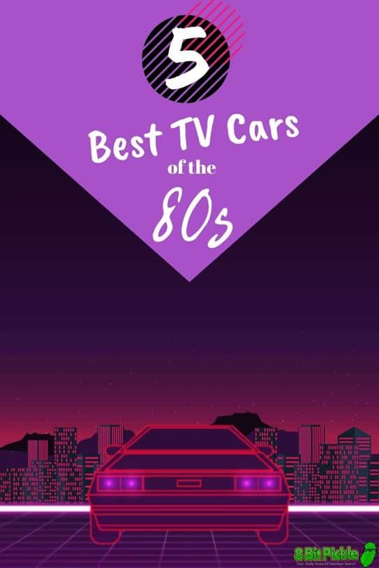 The Best TV Cars Of The 80s