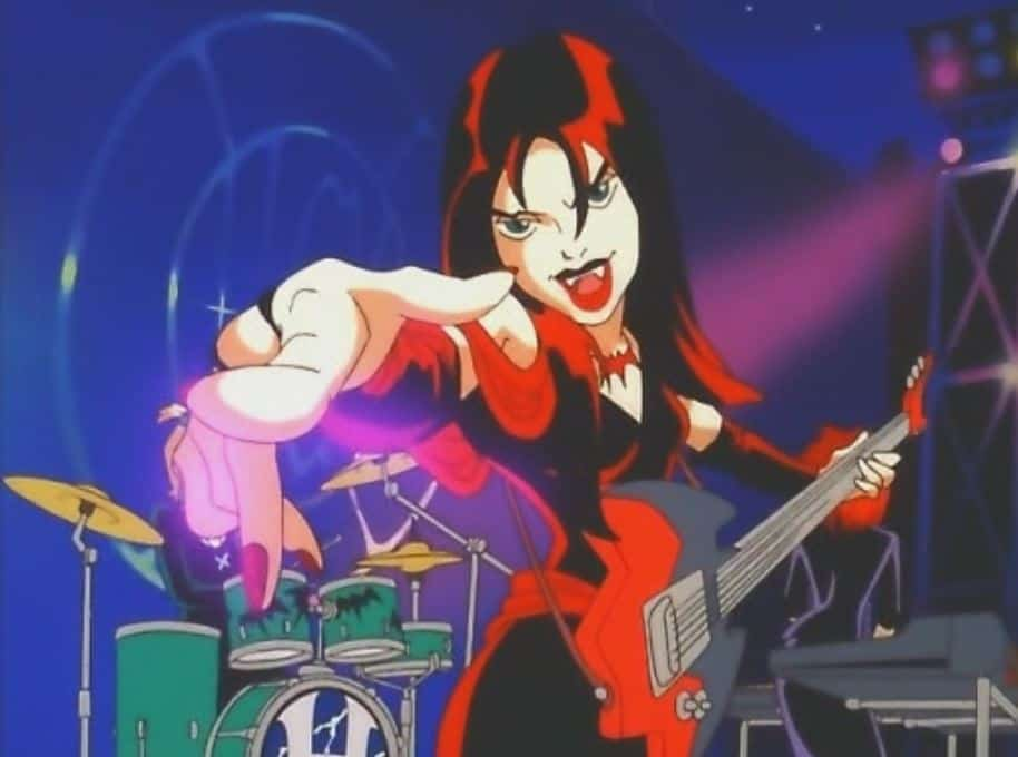 The Hex Girls were first introduced in in Scooby-Doo! and the Witch's Ghost