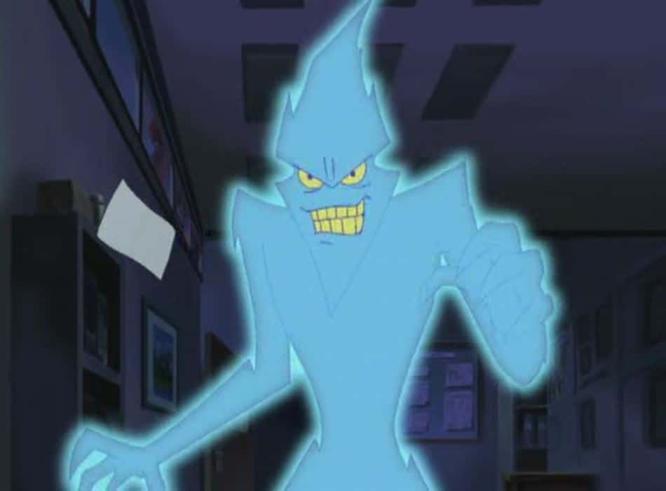 The Phantom Virus from Scooby-Doo and the Cyber Chase
