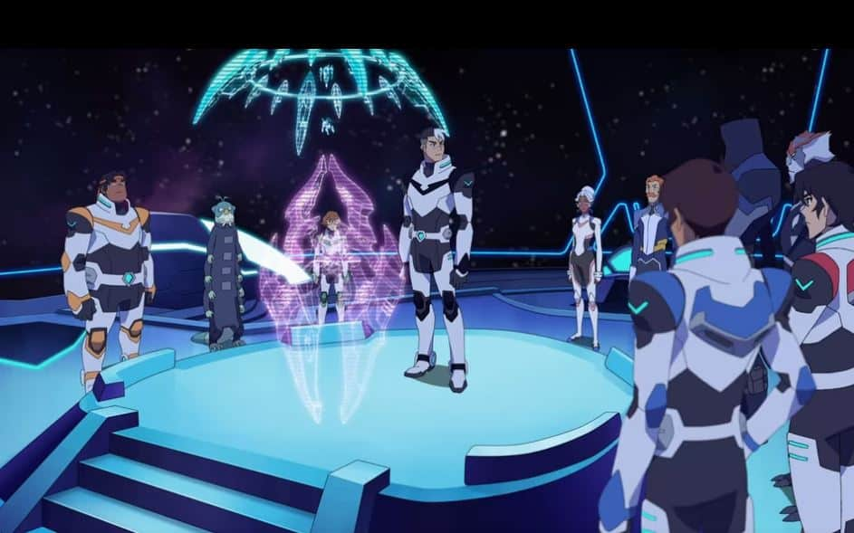 The Team From Voltron Legendary Defender