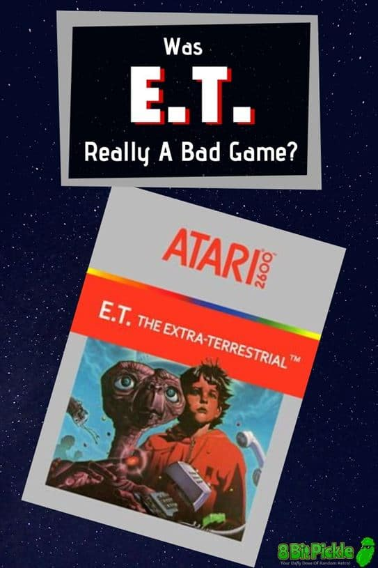 Was The E.T. Game For The Atari 2600 A Bad Game