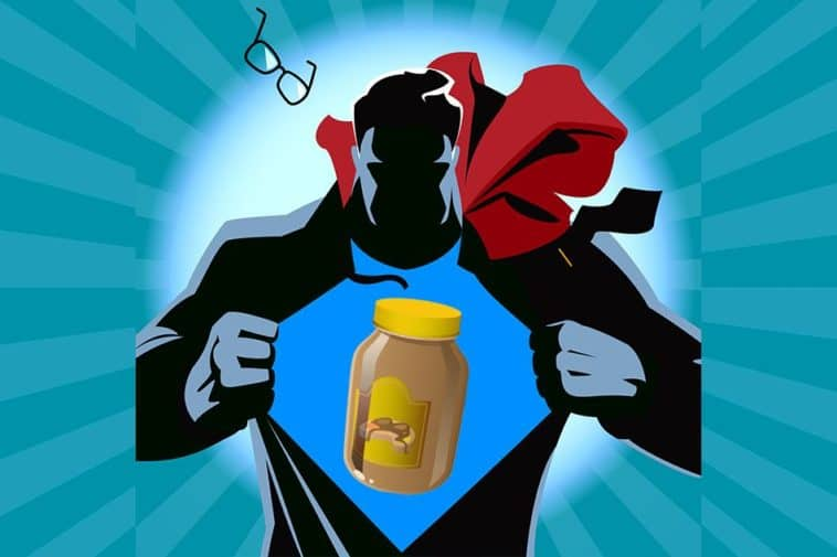 Why did Superman have his own peanut butter