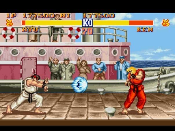 Is Sheng Long In Street Fighter 2