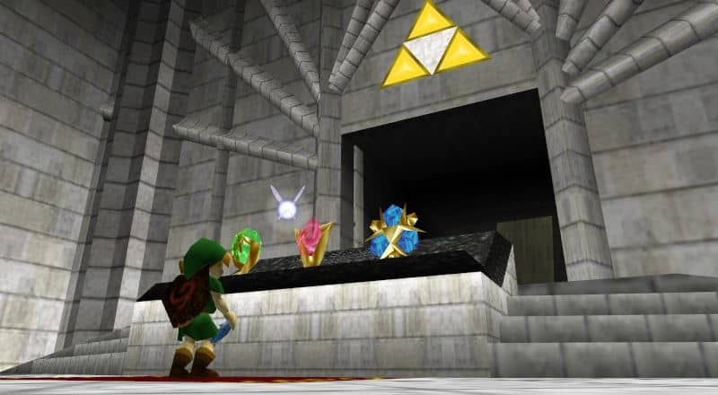 Get The Triforce in Ocarina Of Time