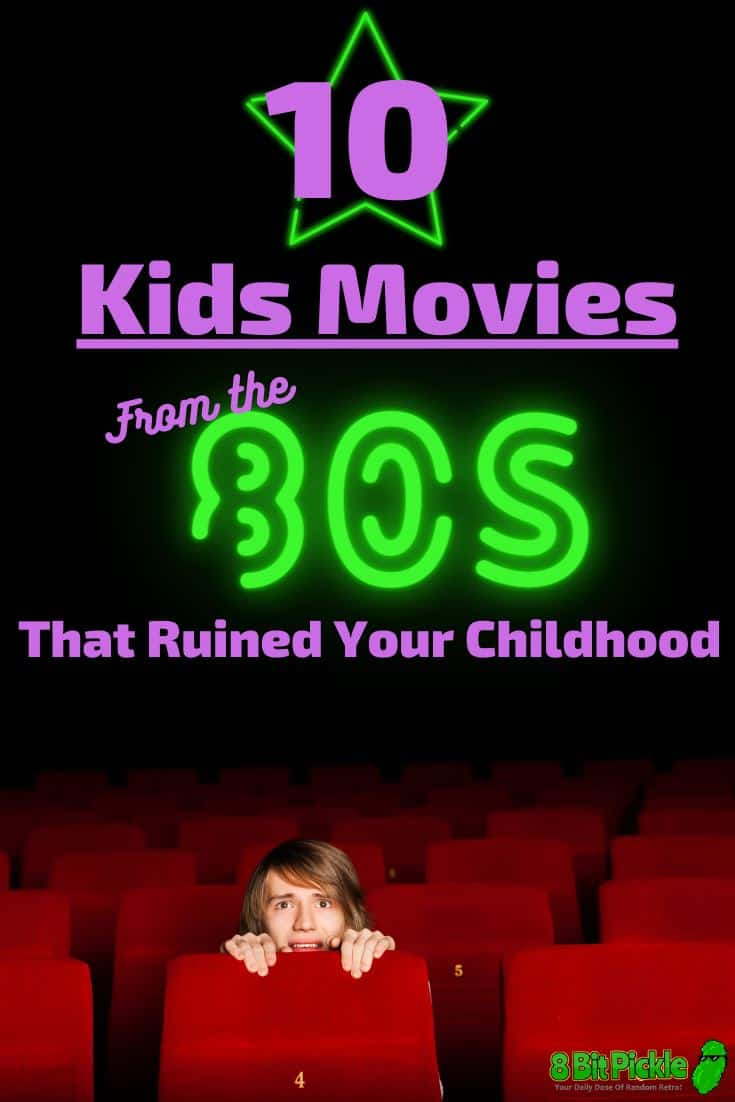 80s Movies that ruined our childhood