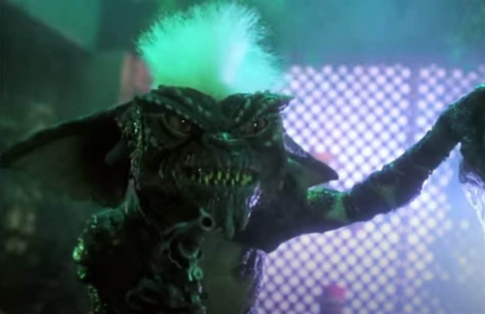 Scray scene from the Gremlins Movie