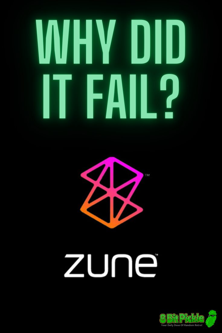 The Failed Zune Media Player