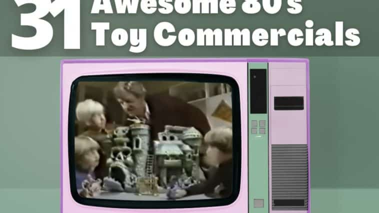 Best 80s Toy Commercials