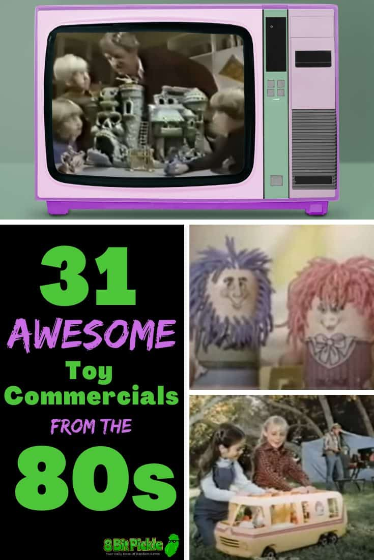 The Best Toy Commercials Of The 80s