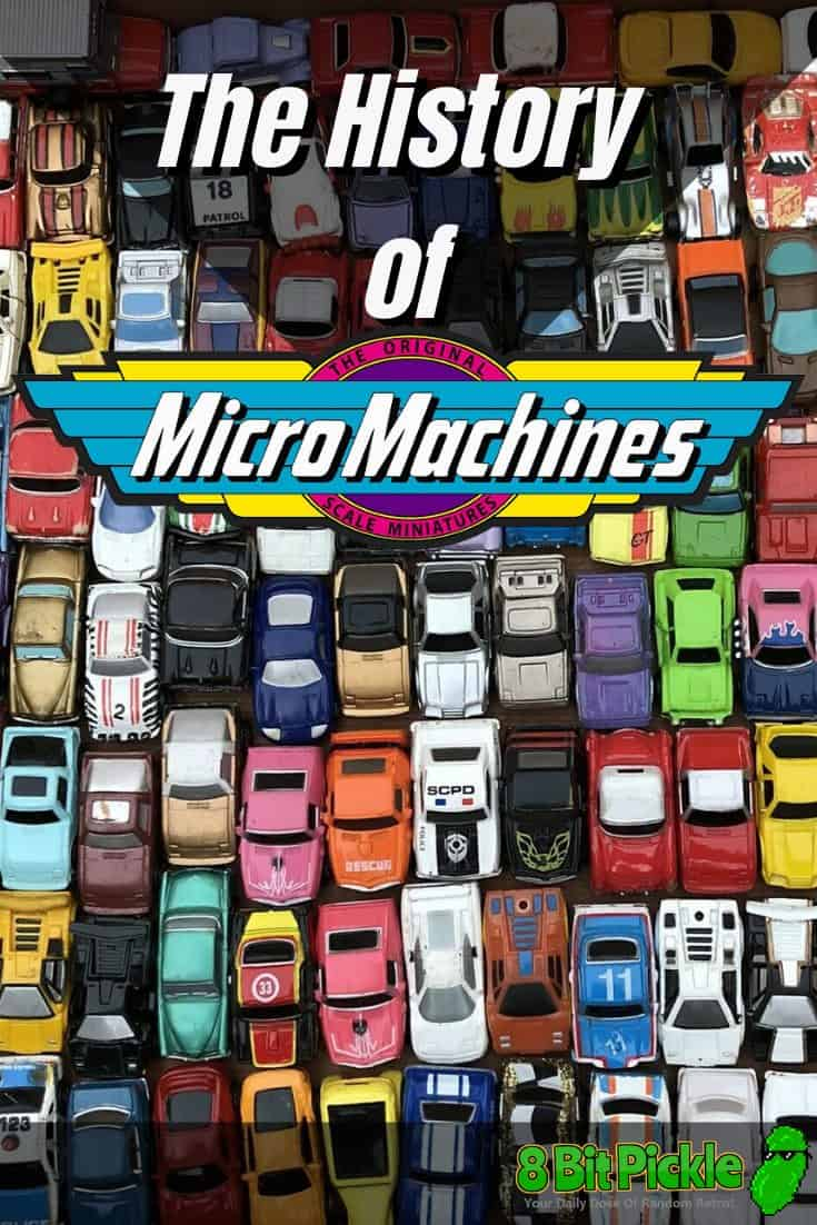 A Brief History Of MicroMachines