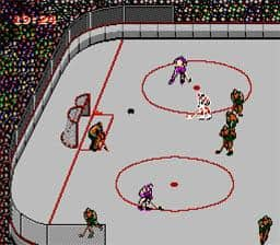 Blades of Steel for 2 players on the NES