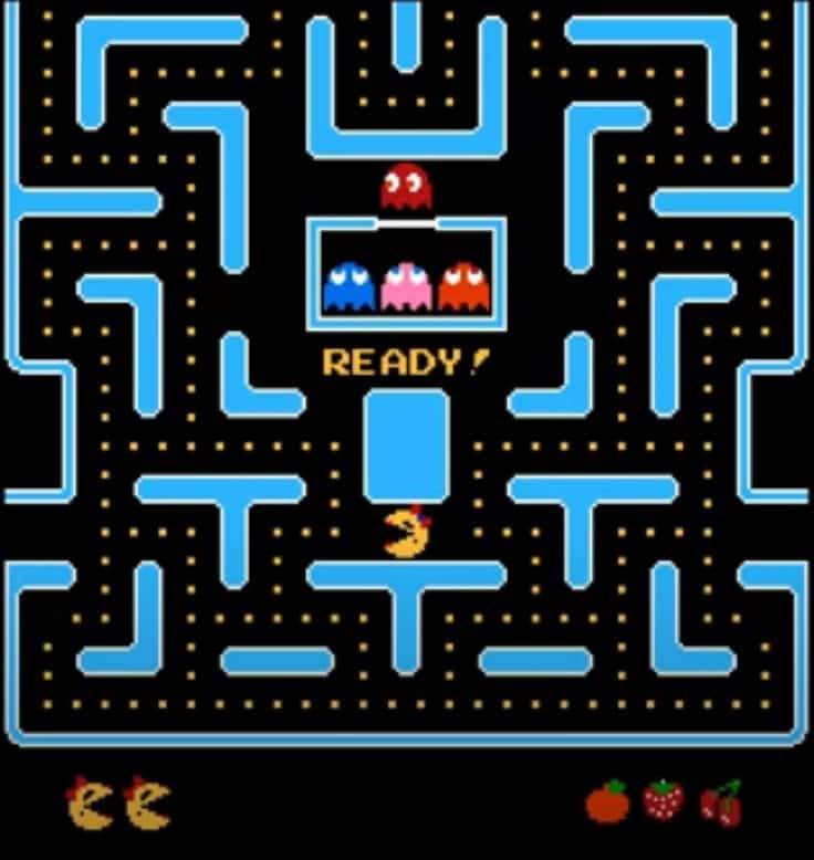 Ms PacMan for NES is 2-Player