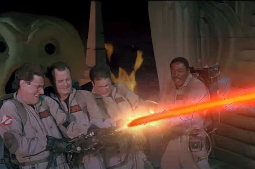 Egon Spengler and the Ghostbusters