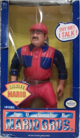 Nintendo Stuffed Super Mario Brothers Doll Complete in the Box