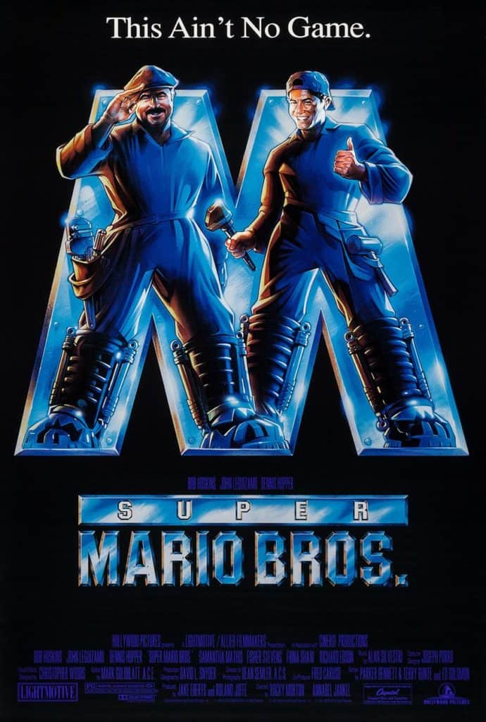 Super Mario Brothers Movie Poster