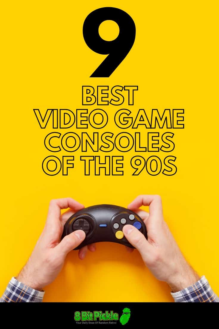 Best Video Gaming Consoles of the 1990s