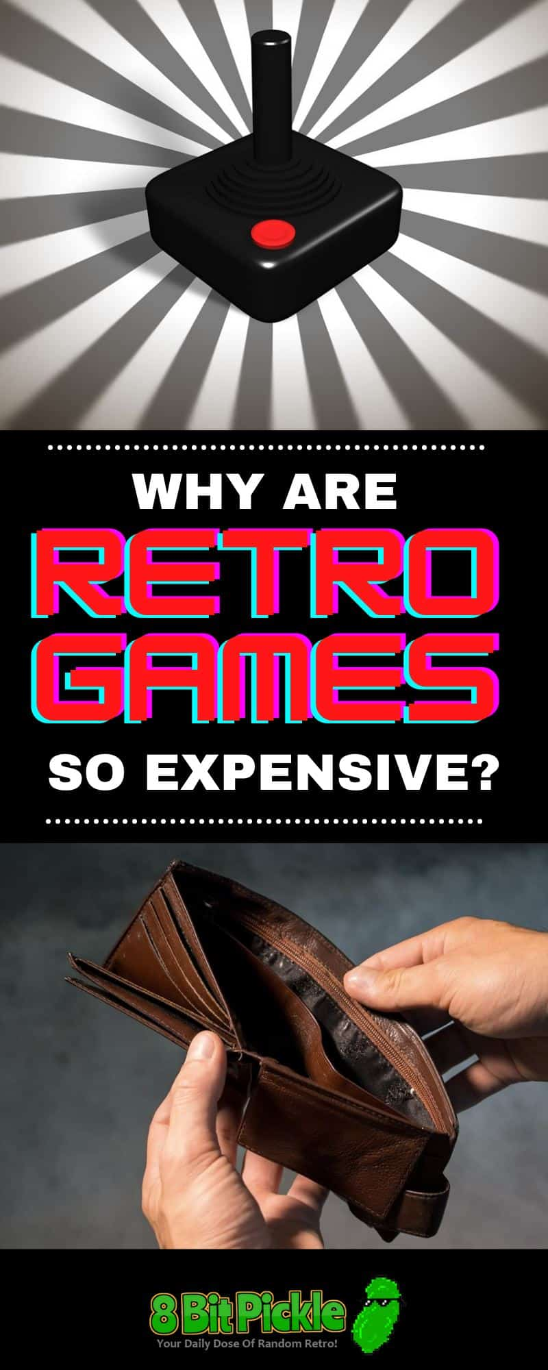 Why Do Old Video Games Cost So Much