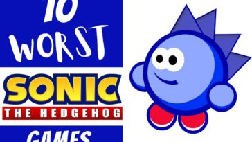 Worst Sonic the Hedgehog Games Ever