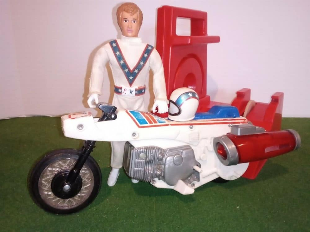 Evel Knievel Action Figure by Ideal Toys