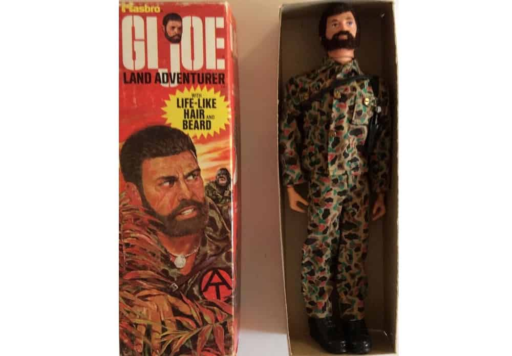 GI Joe Action Figure From The 1970s