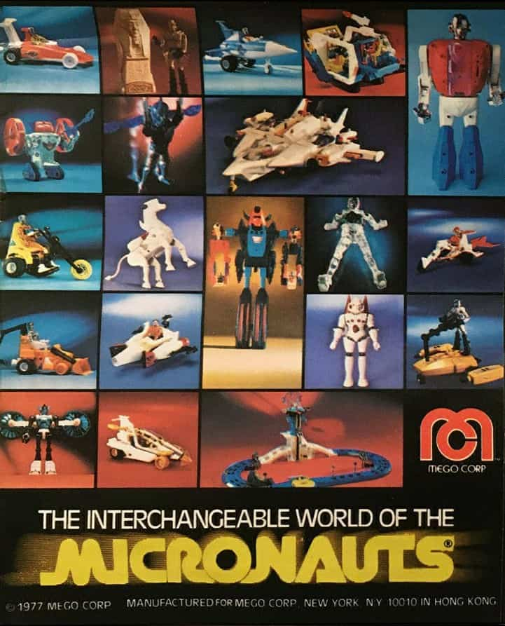 Micronauts Toys From the 70s