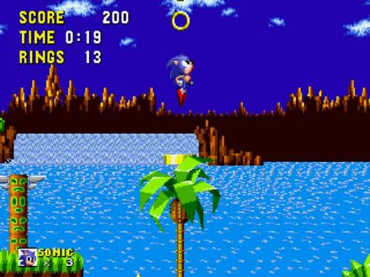 Sonic's Debut Game