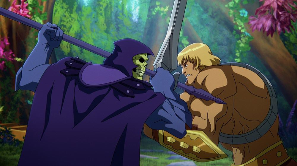 He-Man and Skeletor go into battle