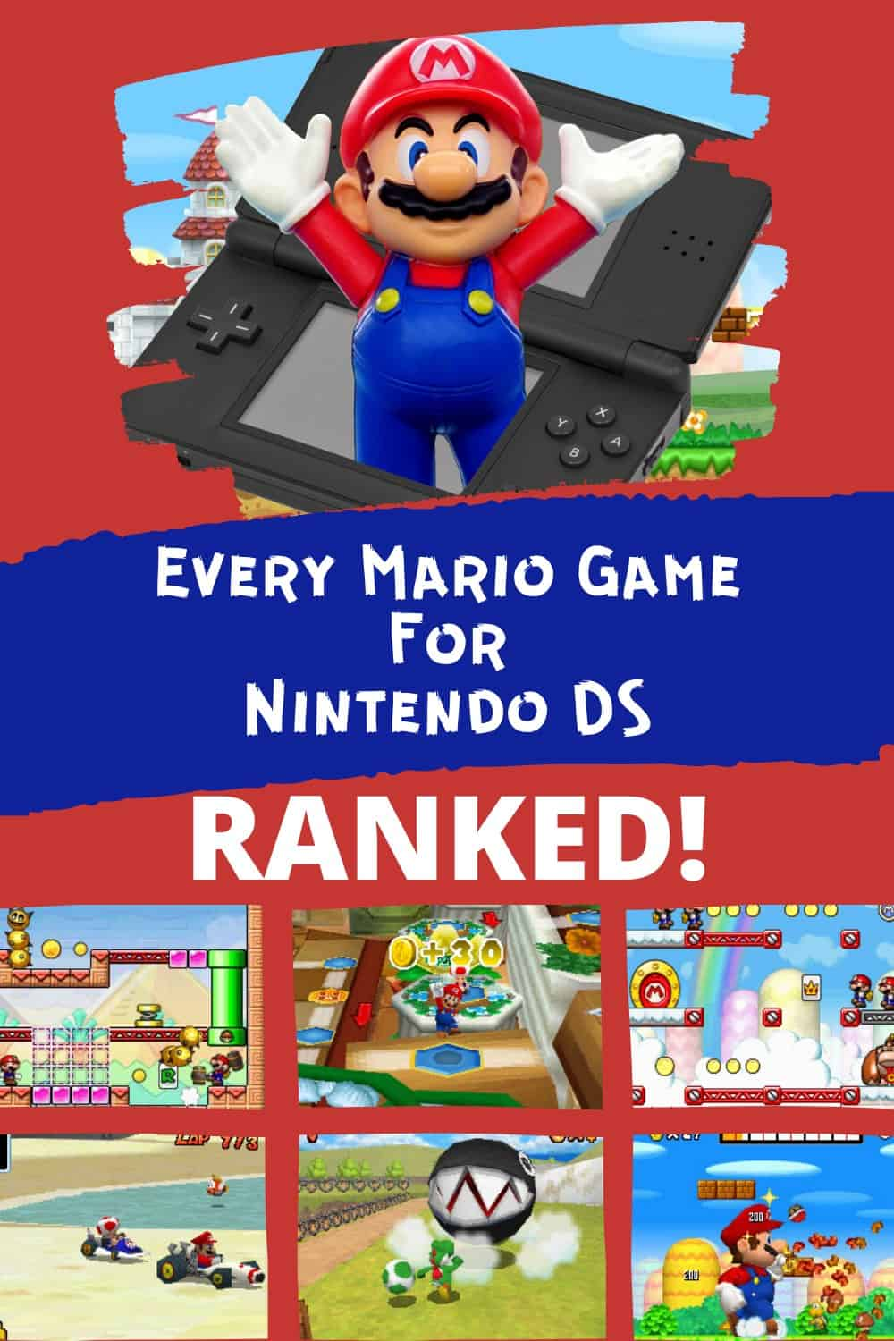Mario Game Review For Nintendo DS
